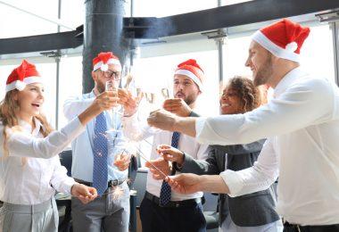 arbre de Noël d'entreprise